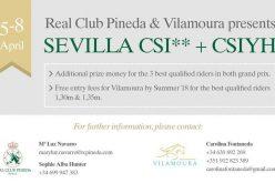 CSI2* Sevilha: Vilamoura Equestrian Tours e Real Club Pineda formam parceria