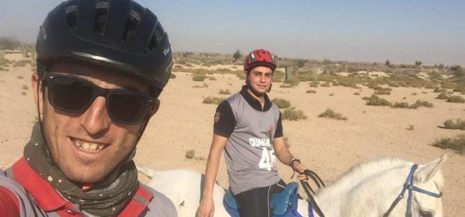 Dois raidistas Portugueses no CEI3* – 160Kms no Dubai