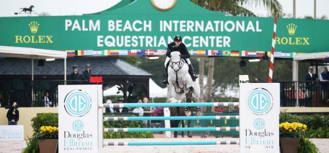 WEF 2018: McLain Ward opens the Winter Equestrian Festival with a win