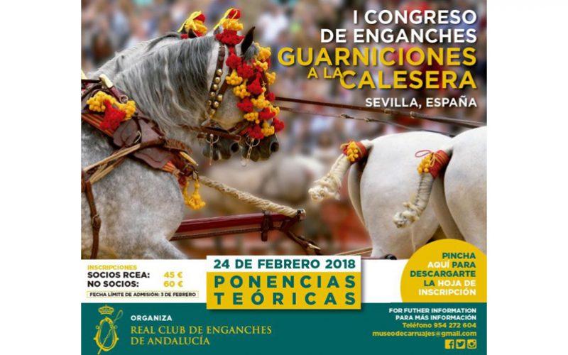Inscrições abertas para o Congresso de Atrelagem em Sevilha