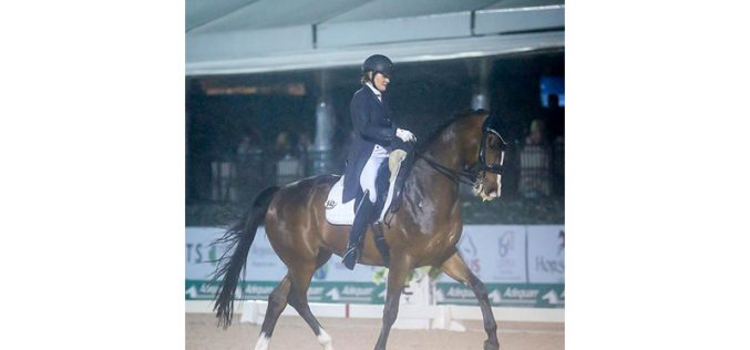 Adequan Global Dressage: Ashley Holzer is Untouchable in the Freestyle