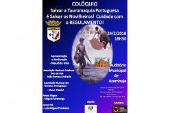 """Colóquio """"Salvar a Tauromaquia Portuguesa é salvar os Novilheiros!"""" – Azambuja"""
