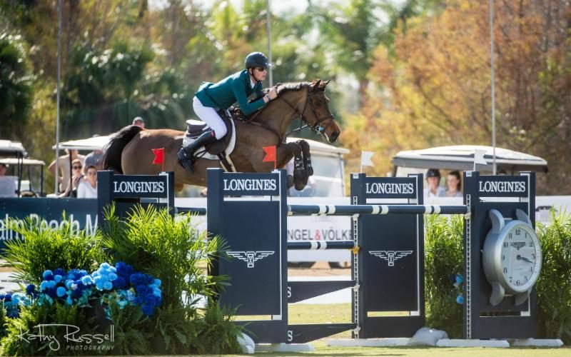 Coyle Cruises to First Longines Victory in Wellington