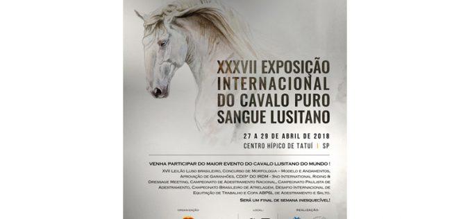 Brasil: Exposição Internacional do Cavalo Lusitano