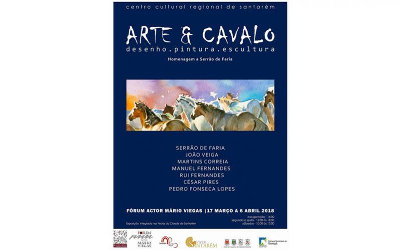 'A Arte e o Cavalo' no Centro Cultural Regional de Santarém
