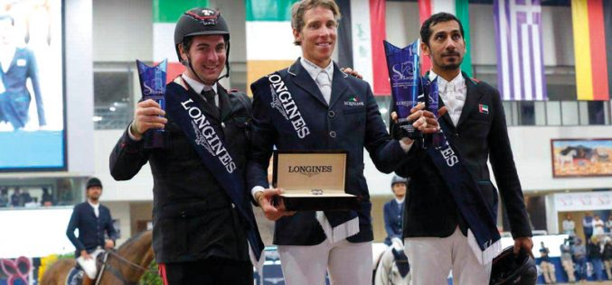 CSI5*-W Sharjah: Eckermann ganha o Grande Prémio; Luís Sabino qualifica Unesco du Rouet para Tryon