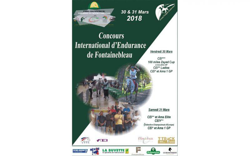 CEI2* Fontainebleau: 2 Raidistas portuguesas inscritas