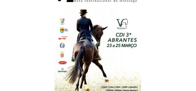 Abrantes recebe o primeiro CDI3* da Rota Internacional de Dressage
