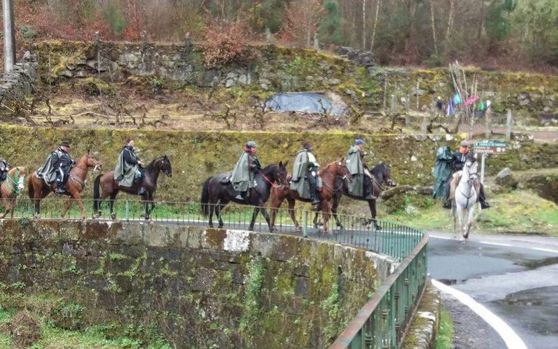 Peregrinação a cavalo termina sábado caminho Braga a Santiago