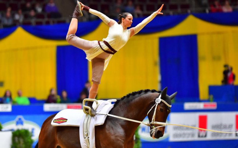 FEI World Cup™ Vaulting Final 2018:  Clean Sweep For Germany (VIDEO)