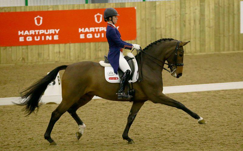 Charlotte Dujardin: «Foi um regresso em grande em Hartpury»