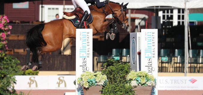 Irish Darragh Kenny Claims One-Two Finish in $35,000 Douglas Elliman 1.45m CSI 3*