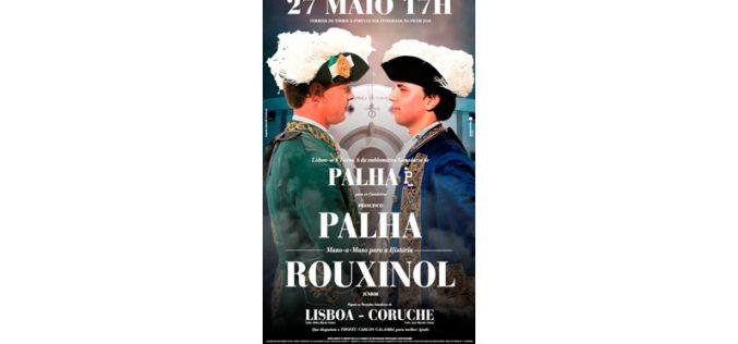 O cartaz do aguardado duelo: Palha x Rouxinol Jr. em Coruche