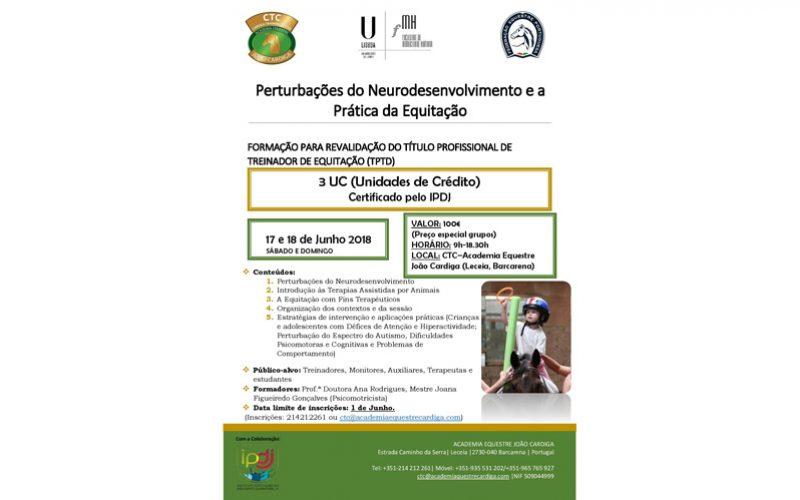 Perturbações do Neurodesenvolvimento e a Pratica da Equitação