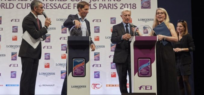 Crucial starting positions decided for FEI World Cup™ Finals in Paris