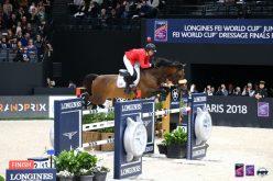 Paris: Americana Beezie Madden vence com Breitling a primeira prova da final Taça do Mundo de Saltos (VÍDEO)