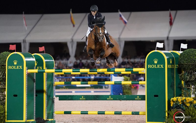 Margie Engle Celebrates Birthday with Victory in $500,000 Rolex Grand Prix