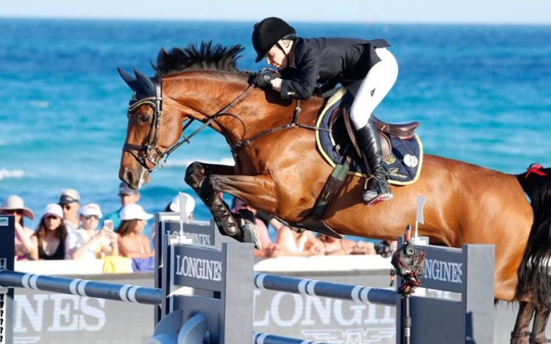 Edwina Tops-Alexander vence o Grande Prémio Longines em Miami