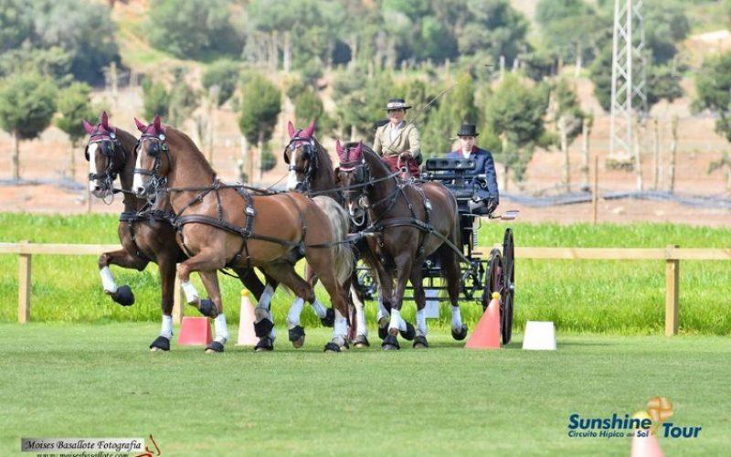 Espanha domina a primeira mão da Taça Ibérica de Atrelagem 2018