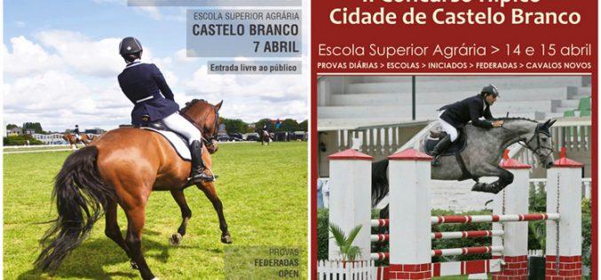 Castelo Branco: Centro Equestre organiza concursos de Dressage e Saltos em Abril