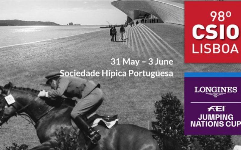 Cavaleiros qualificados para participar no CSIO3* de Lisboa 2018