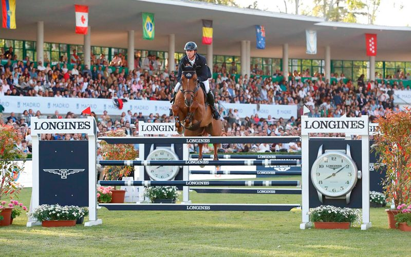 Magnificent Maher Regins Supreme at LGCT Madrid