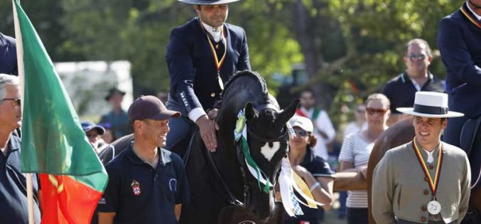 Gilberto Filipe Campeão do Mundo de Equitação de Trabalho em Munique