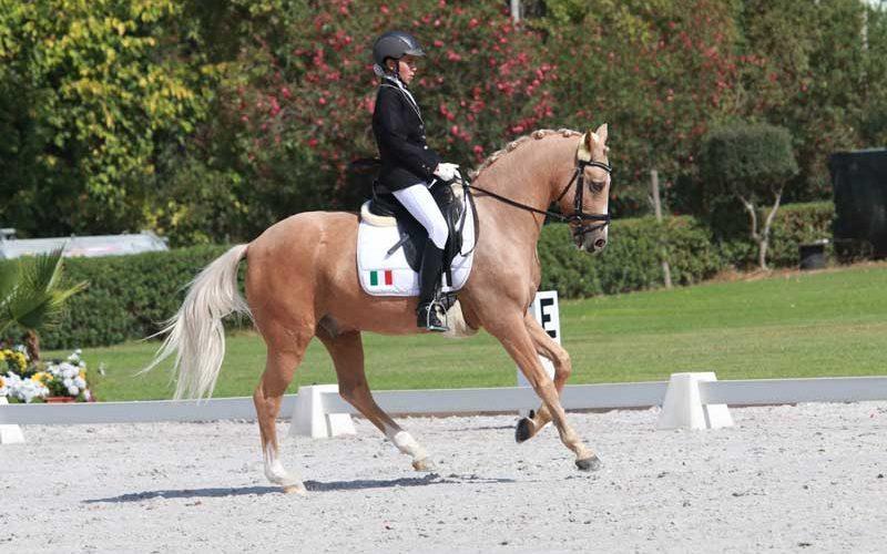 Lisa-Caroline Bartz seleccionada pela Federazione Italiana Sport Equestri