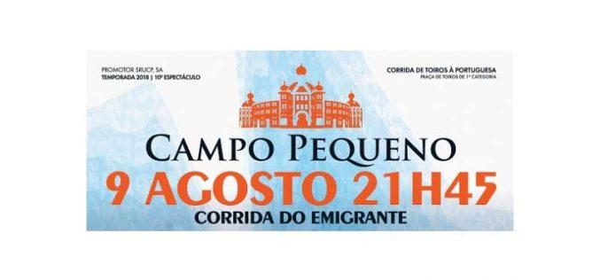 Campo Pequeno: Seis cavaleiros a 9 de agosto e corrida TVI no dia 24