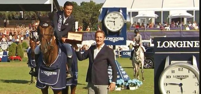 Irish Billy Twomey claims €200,000 Longines Falsterbo Grand Prix in Sweden – His third win in 24 hours