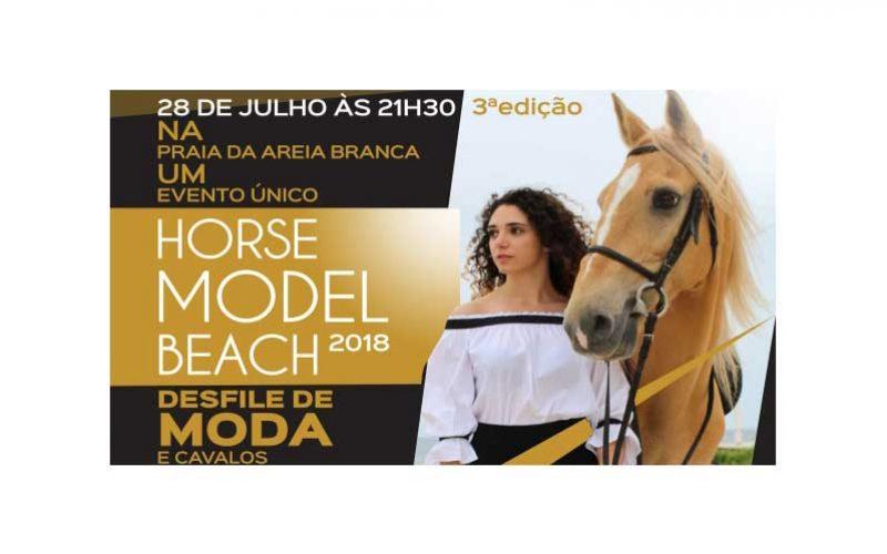 Horse Model Beach na Praia da Areia Branca – Lourinhã