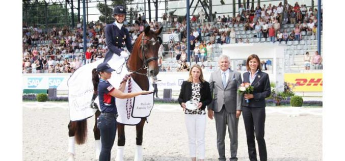 CDIO5* Aachen: Americana Laura Graves garante triunfo na Taça das Nações Lambertz