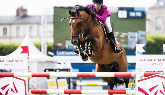 CSI5* Chantilly: Luciana Diniz sobe ao segundo lugar do pódio