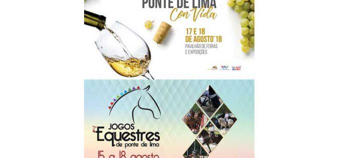 II Jogos Equestres de Ponte de Lima em Agosto