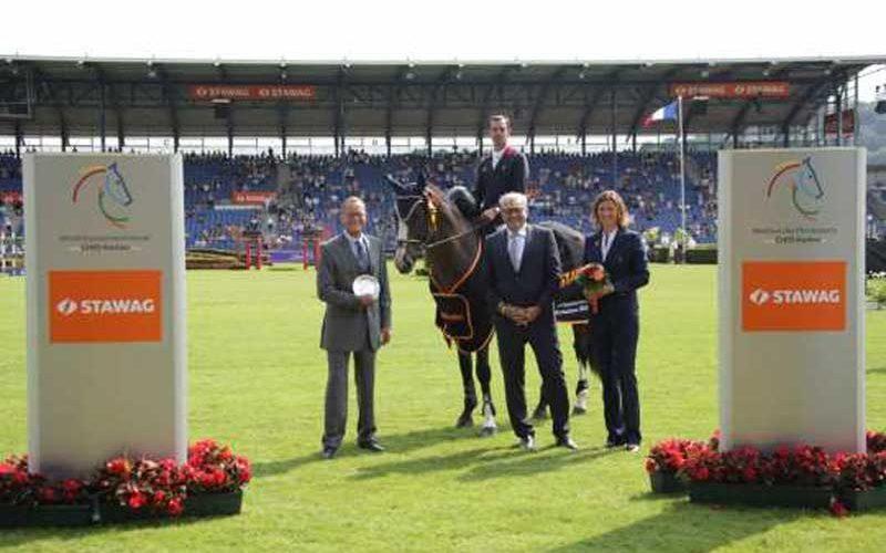 CSIO5* Aachen: Francês Mathieu Billot vence prova inaugural – Luciana Diniz em 6º lugar nos Cavalos Novos