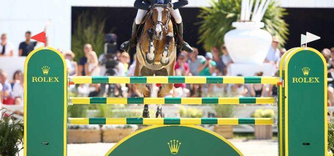 Bruynseels imbatível no Grande Prémio Rolex: Luciana Diniz em sétimo lugar