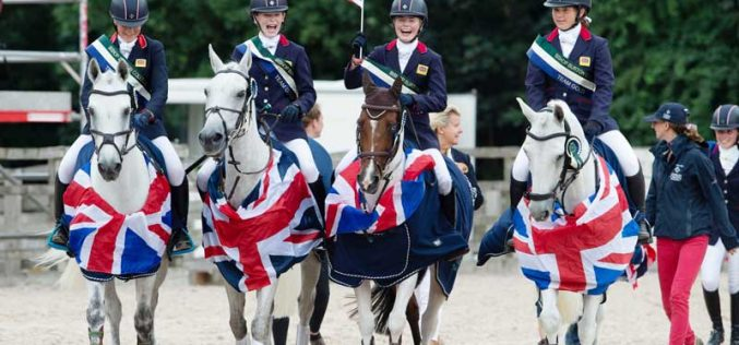 FEI European Pony Championships: Gold for Germany and Great Britain while Sweden tops individual Jumping