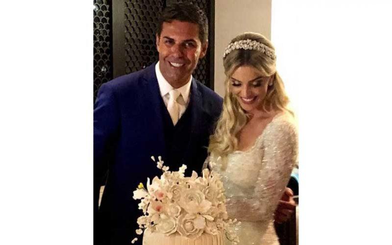 Doda Miranda casou no passado sábado em Silves