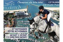 Vilamoura Champions Tour 2018: Já inscritos 900 cavalos (VÍDEO)