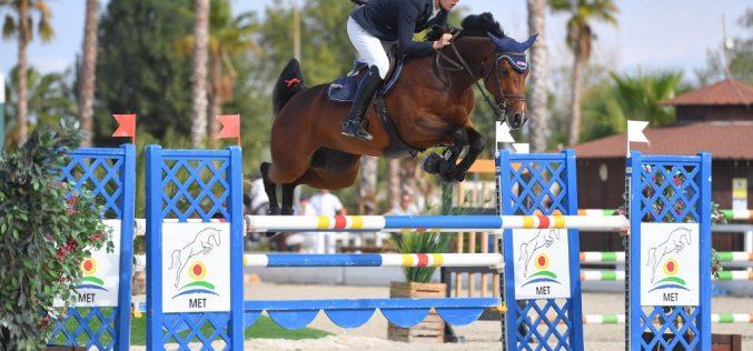 Top honours to Grannuschka, Quissini LS & Diarado's Girl TW in Autumn MET 2018 Young Horse Finals I