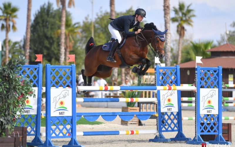 Top honours to Grannuschka, Quissini LS & Diarado's Girl TW in Autumn MET 2018 Young Horse Finals I