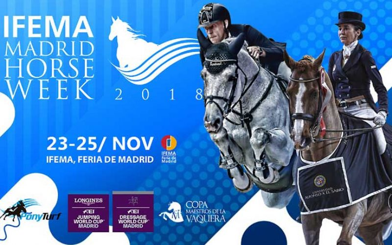 Madrid Horse Week: 5 Cavaleiros portugueses inscritos (VÍDEO)