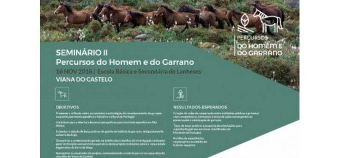 """II Seminário do projeto """"Percursos do Homem e do Garrano"""" apresenta resultados de dois anos de trabalho"""