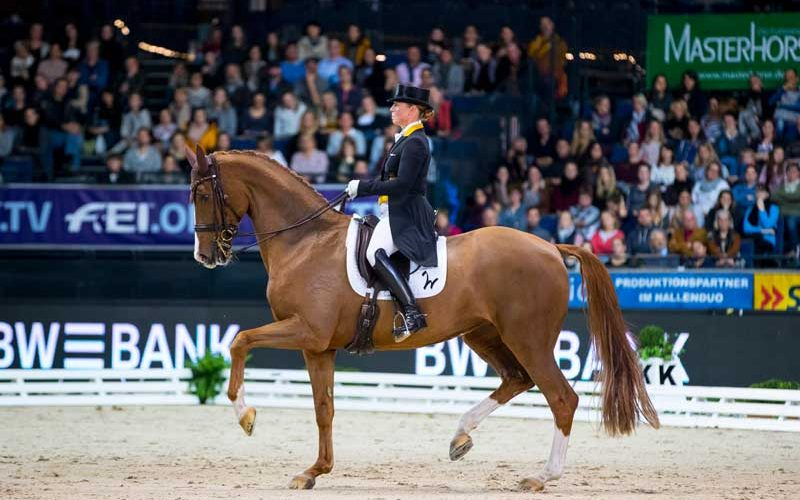 "Werth breezes to a ""special"" victory with Bella Rose in Stuttgart"