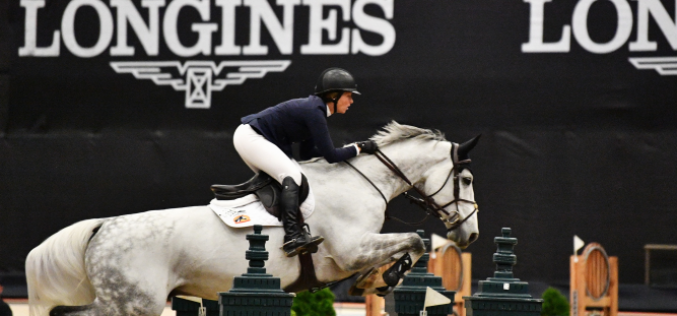 Madden Continues Longines Streak in Lexington (VIDEO)