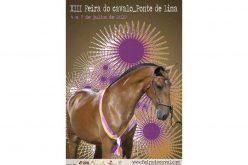 Cartaz 2019 – Feira do Cavalo de Ponte de Lima – Exposto na Feira Nacional do Cavalo na Golegã