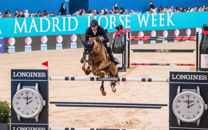 Germany's Deusser makes it a double in Madrid