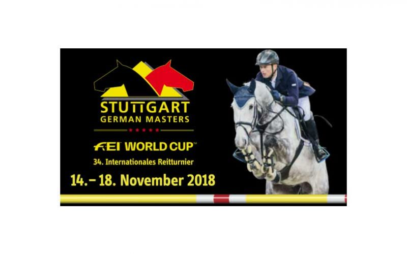 2 Cavaleiros portugueses inscritos no German  Masters de Estugarda