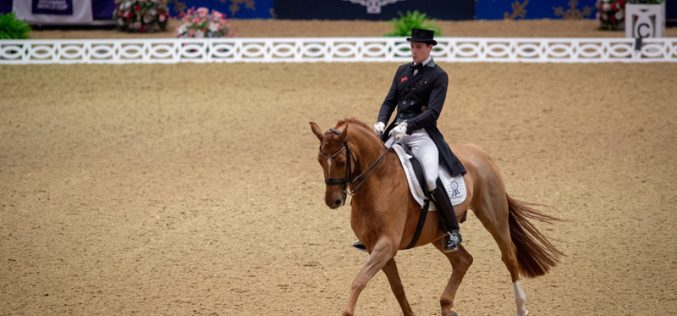 Germany's Wandres pips Britain's Dujardin in incredibly tight contest in London