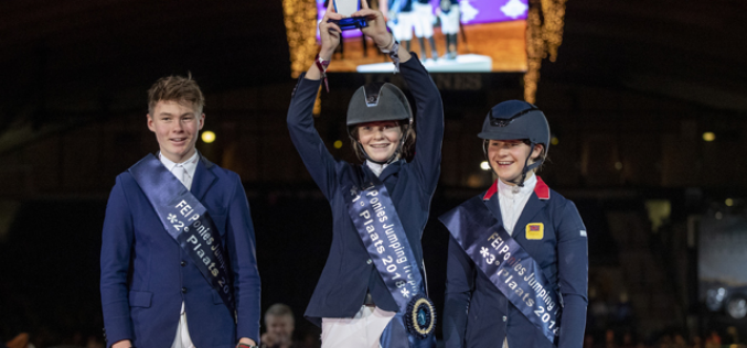 Power brings FEI Ponies Jumping Trophy back to Ireland once again